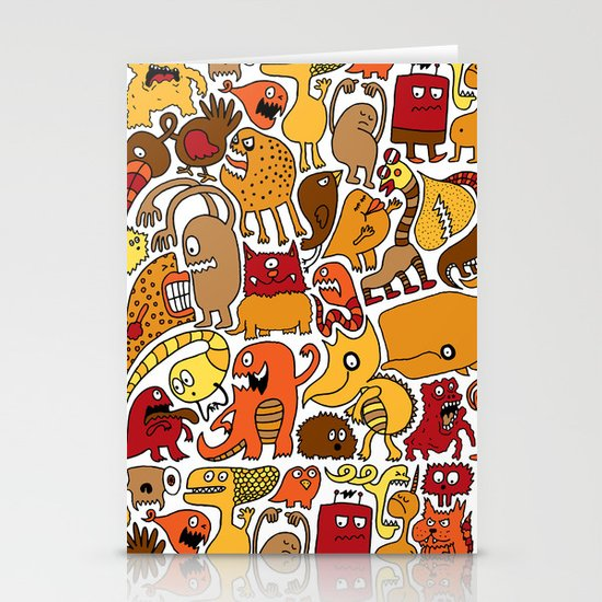 Creatures! Stationery Card
