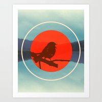 Bird Call Art Print