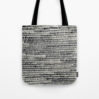 Watercolour Lines Tote Bag