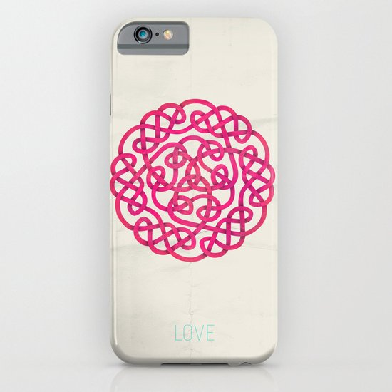 Love poster iPhone & iPod Case