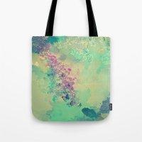 Little Golden Fish Tote Bag