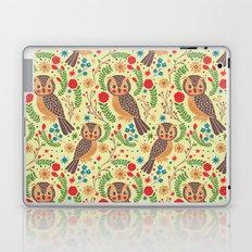 The Vintage Horned Owl Laptop & iPad Skin