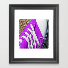 Daps. Framed Art Print