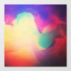 Glitch 13 Canvas Print