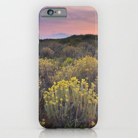 Yellow sunset iPhone & iPod Case