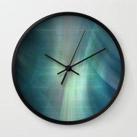 Winding Light Wall Clock