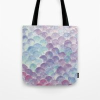 Purple Scales Tote Bag