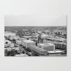 Black and White Urban Canvas Print