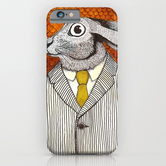 El conejo careta iPhone & iPod Case