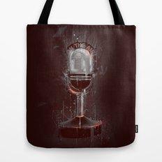 DARK MICROPHONE Tote Bag
