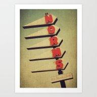 Norm's  Art Print