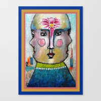 Three Faces of Beauty Canvas Print