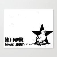 Mother Knows...  Canvas Print
