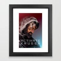 Activate Kruger Framed Art Print