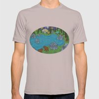 Pine Forest Mens Fitted Tee Cinder SMALL