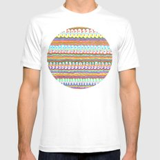fusion color invasion SMALL White Mens Fitted Tee