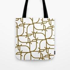 A Geometric Pattern Tote Bag