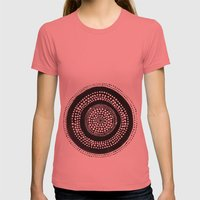 Dotto 27 Womens Fitted Tee Pomegranate SMALL