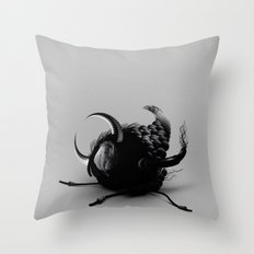 INSECT_2 Throw Pillow