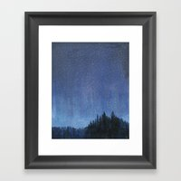 Sky Jewelry Framed Art Print