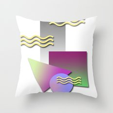 kool shaps Throw Pillow