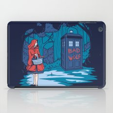 Big Bad Wolf iPad Case