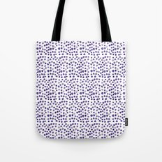 BLUE DOTS Tote Bag