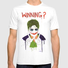The new joker? SMALL Mens Fitted Tee White