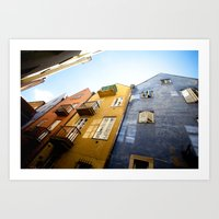 Colours Of Warsaw Art Print