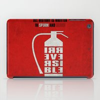 Irreversible iPad Case