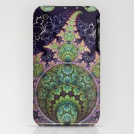 iPhone & iPod Case featuring Playful Circles, Spirals… by Thea Walstra