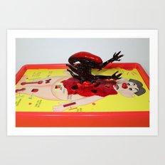 Alien Operation Art Print