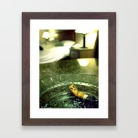 Smoking Room Framed Art Print