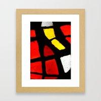 Light and Color Framed Art Print