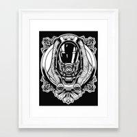 Mass Effect. Thali Zora Framed Art Print