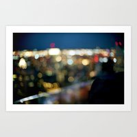 New York City Blinding L… Art Print