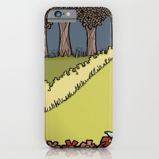 Flowers to Grass to Trees iPhone & iPod Case