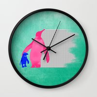 Pinkuin - Mom And Son Wall Clock