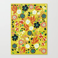 Flourishing Florals Canvas Print