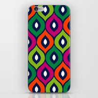 Leela Green iPhone & iPod Skin
