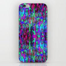 Neon Lights iPhone & iPod Skin