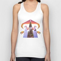 Off Shore Firework Show Unisex Tank Top