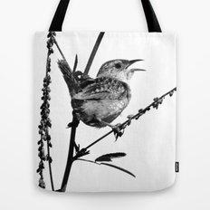Sedge Wren Tote Bag