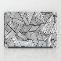 Straight Lines iPad Case