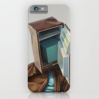 iPhone & iPod Case featuring you say what by Tapio Mömmö