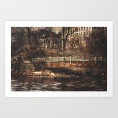 A Bridge Art Print