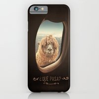 iPhone Cases featuring QUÈ PASA? by Monika Strigel