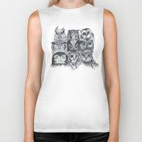 Nine Owls Biker Tank