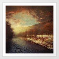 Deeper Winter Art Print