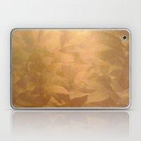 Brushed Copper Metallic Laptop & iPad Skin